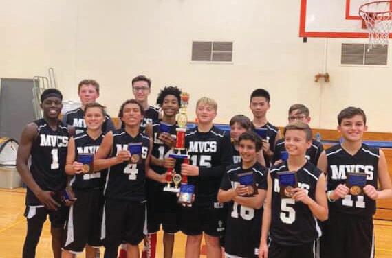 Mission Viejo Christian School 2019 Basketball champs