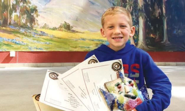 Laguna Beach Festival of Arts 7-Year-Old Art Student Receives Multiple Awards