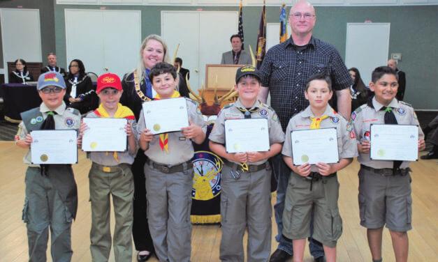Mission Viejo Elks Honor Local Teens